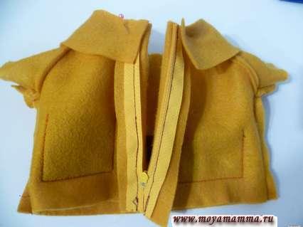 пальто для басика