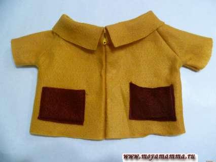 Пальто для басика своими руками