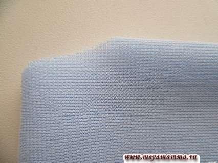 вырезание горловины платья без шитья