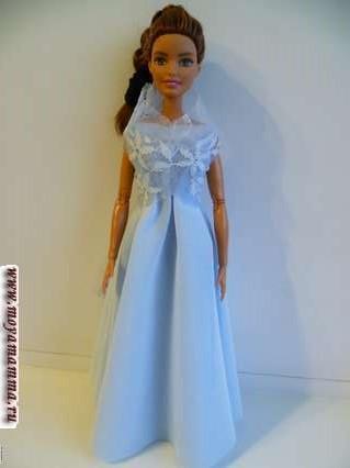 Вечернее платье с пелериной без шитья