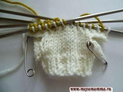 вязание ленивого узора