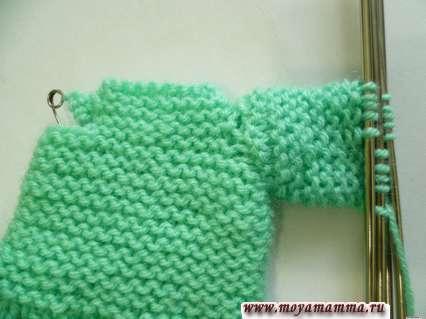 вязание рукава для платья