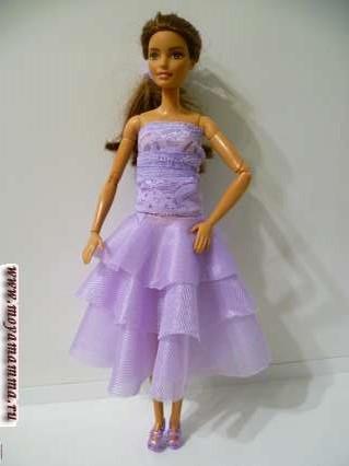 платье миди без шитья