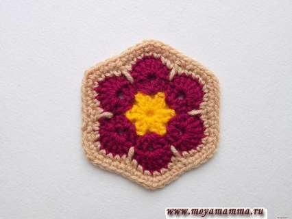 афганский цветок