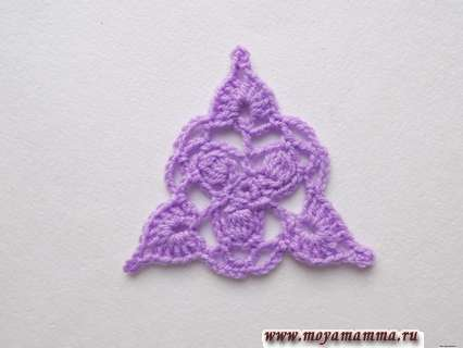 ажурный треугольник