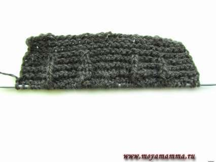 вязание пальто-реглан