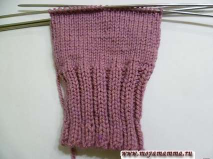 Вязание простой рукавички