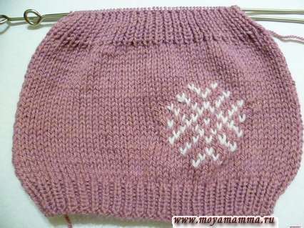 Завершение вязания шапки