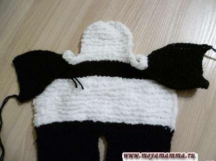 вязание кигуруми панда