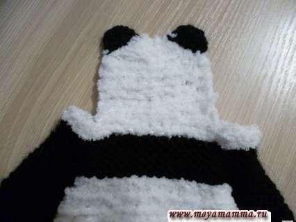 ушки кигуруми панда