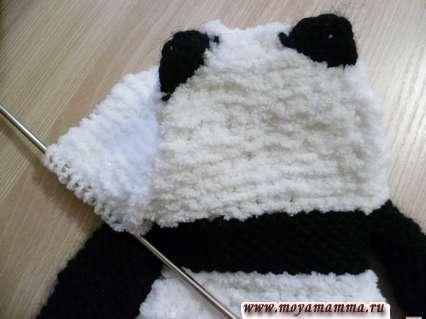 завершение вязание капюшона
