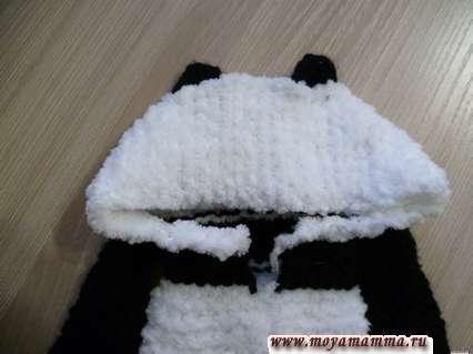 капюшон панда
