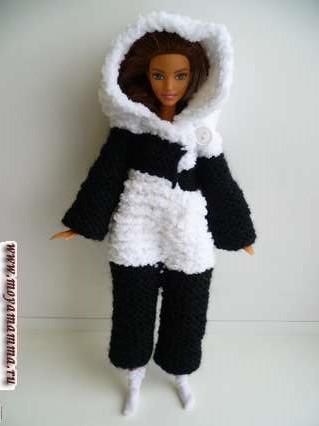 кигуруми для куклы