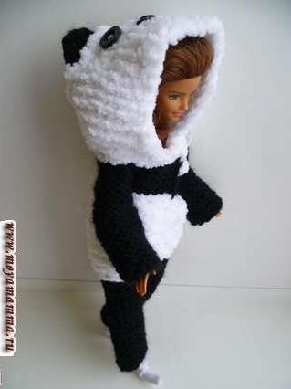 кигуруми для барба панда