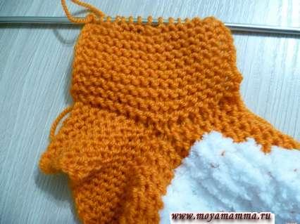 вязание рукава
