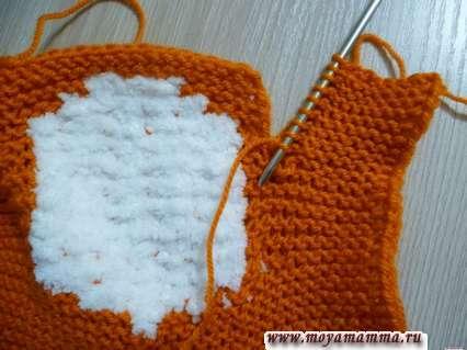 набор петель для вязания другого рукава