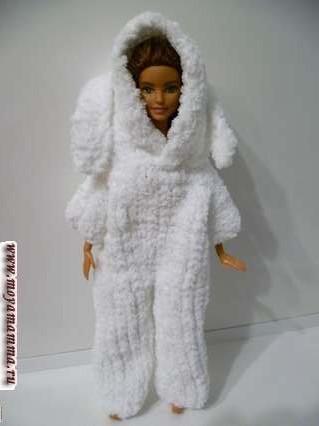 Кигуруми для куклы «Зайка»