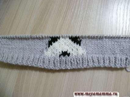 шапка с пандой