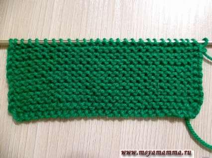 вязание штанины комбинезона