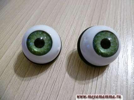 глазки-пуговицы лягушонка