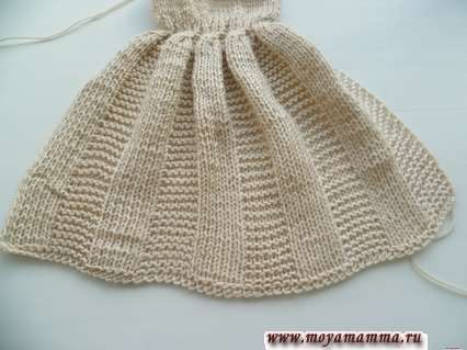отпаривание юбки платья