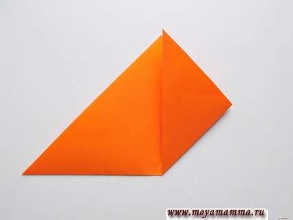 треугольнику придадим форму квадрата