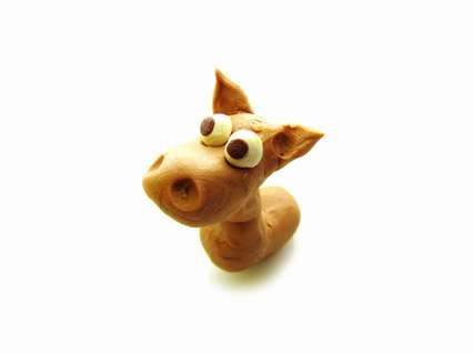 оформление головы лошадки