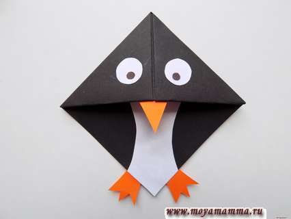закладка пингвин