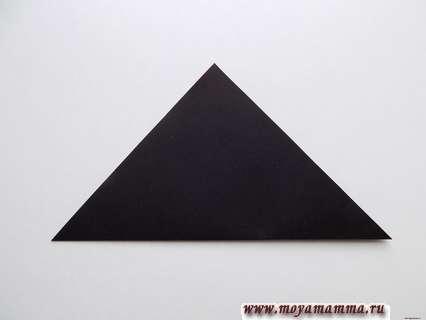 Складываем черный квадрат по диагонали