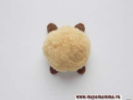 туловище черепашки с лапками