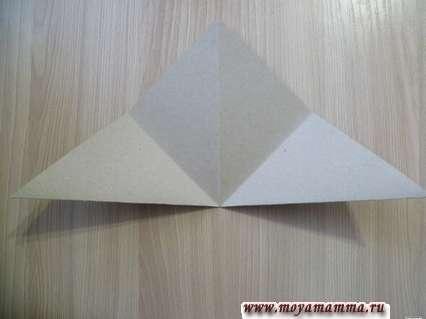 треугольник со сгибами