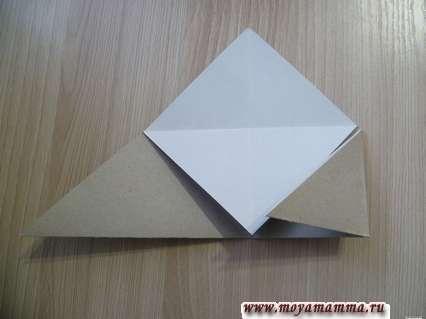изготовление закладки уголок