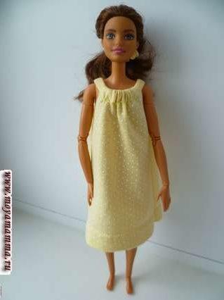 летнее платье силуэта А4