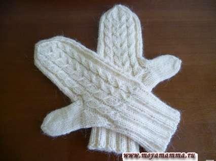 способы вязания большого пальца