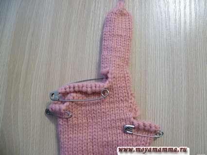 Большой палец правой перчатки