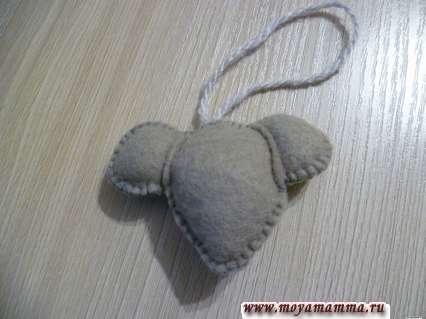 сшивание головы мышки