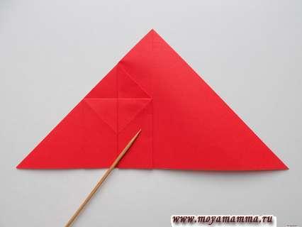 Как сделать ракету оригами