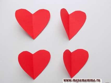 Заготовки для сердечка
