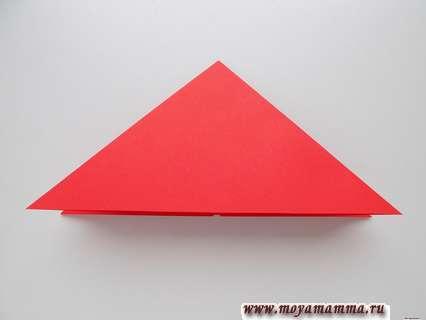 Сложение треугольником в несколько слоев