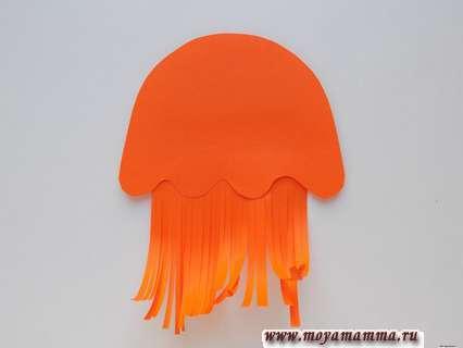 Соединение деталей медузы