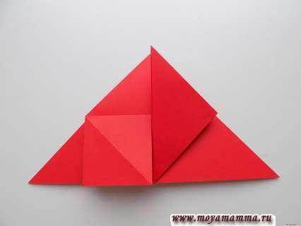 Расправление уголков с приданием формы квадрата