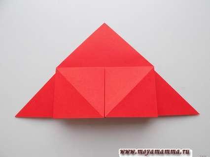 Формирование аналогичного квадрата справа