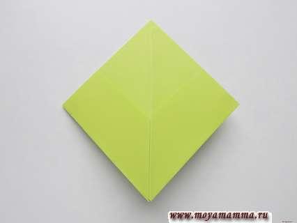 Как сделать пилотку оригами. Форма квадрата