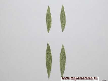 Листочки для гвоздики