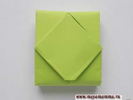 Танк из бумаги с пошаговой инструкцией. Основа для танка