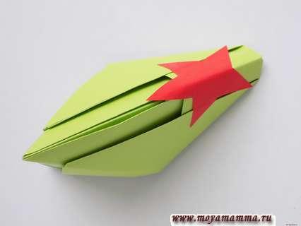Как сделать пилотку оригами