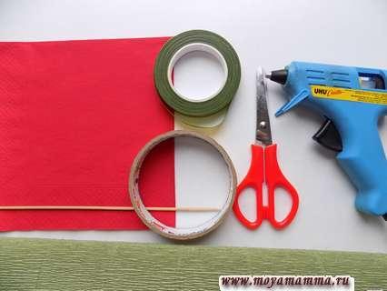 Материалы для изготовления гвоздики