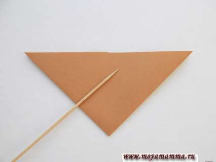 Складывание треугольника