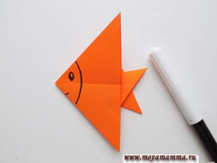 Дооформление рыбки