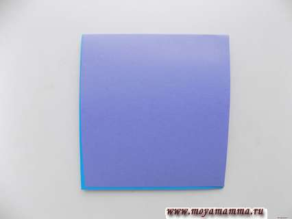 Складывание 2-х прямоугольников пополам